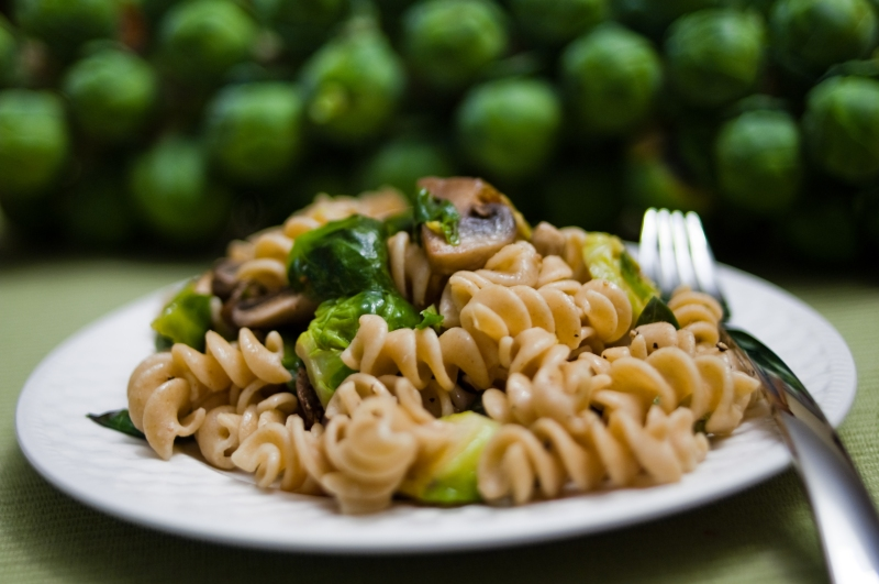 Brussels Sprouts Pasta