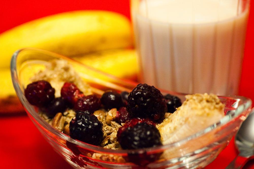 Banana Split for Vegans or Daniel Fast