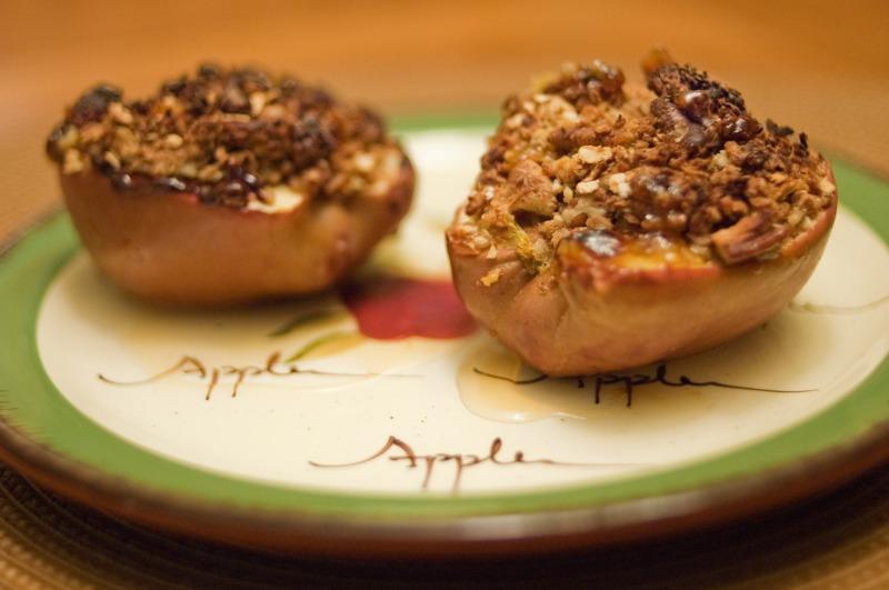 Baked Stuff Apples