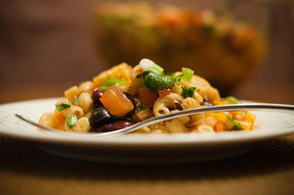 Zesty Salsa Pasta Salad