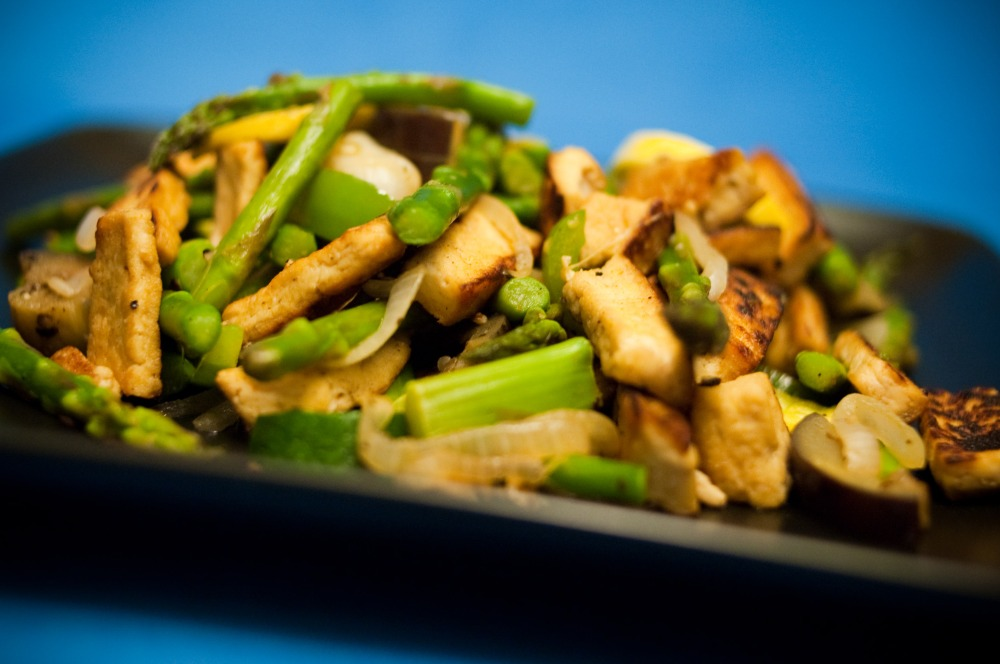 Very Tasty Tofu and Veggies