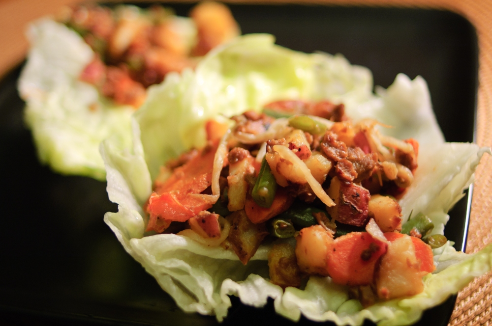Make It Your Way Lettuce Wraps